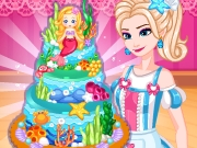 Elsa's Dream Sea Cake