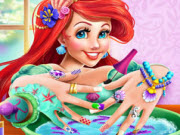 Mermaid Princess Nails Spa