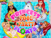 Princess Pool Party Floats