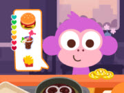 Purple Pink Burger Shop
