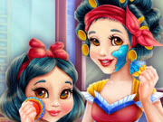 Snow White Mommy Real Makeove