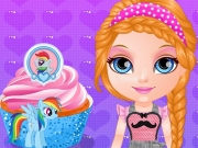 Baby Barbara Little Pony Cupcakes
