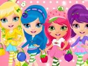 Baby Barbara Strawberry Costumes