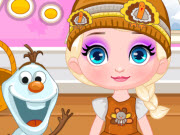 Baby Elsa's Thanksgiving