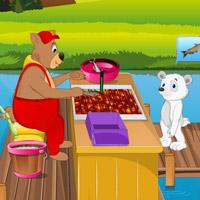 Bear Live Fish Fry Shop