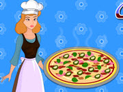 Cinderella Cooking Egg Pizza