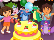 Dora & Friends Birthday Party