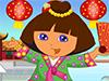 Dora in China Dressup