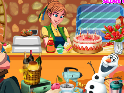 Frozen Princess Bakery