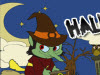 Halloween Witch Online Coloring