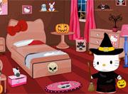 Hello Kitty Halloween Room Decor