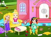 Little Princesses Castle Cleaning