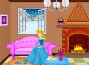 Princess Winter Living Room Design