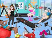 Princesses Gym Workout