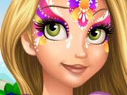 Rapunzelfacepainting
