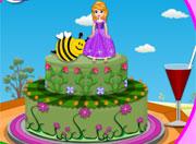 Sofia Spring Birthday Cake