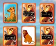 The Lion King - Memory Cards