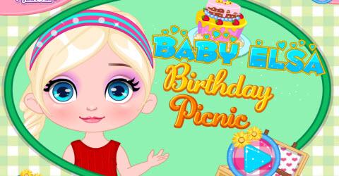 Baby Barbie Birthday Picnic