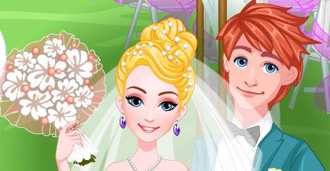 Barbie Bridal Salon Makeover