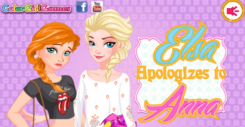 Elsa Apologize to Anna