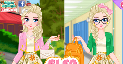 Elsa College Fashion Expert