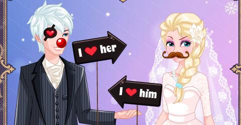 Elsa Wedding Photo Booth