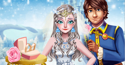 Ice Princess Bridal Makeover
