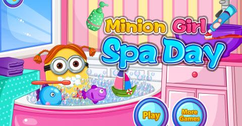 Minion Girl Spa Day